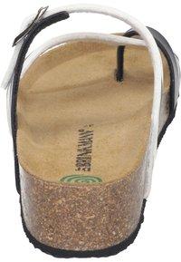 Dr. Brinkmann - T-bar sandals - weiß/zebra - 2