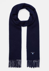 Barbour - PLAIN SCARF UNISEX - Scarf - navy - 1