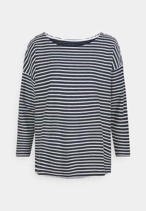 T-shirt à manches longues - blue melange/white