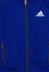 adidas Performance - XFG TRACKSUIT - Sweatshirt - blue - 3