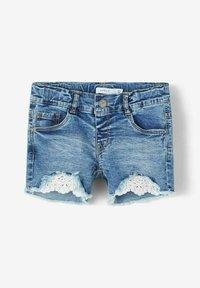 Name it - Denim shorts - medium blue denim - 2
