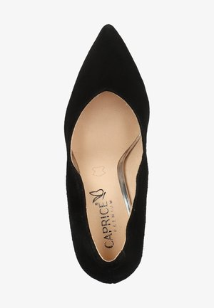 PUMPS - High heels - black suede 904