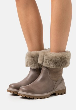 TREDTRAY - Winter boots - beige