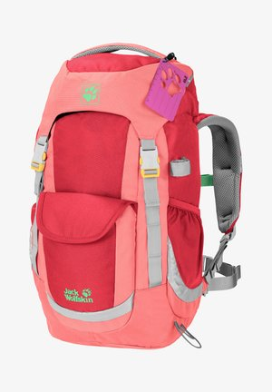 Hiking rucksack - tulip red
