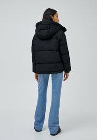 PULL&BEAR - Down jacket - black - 3