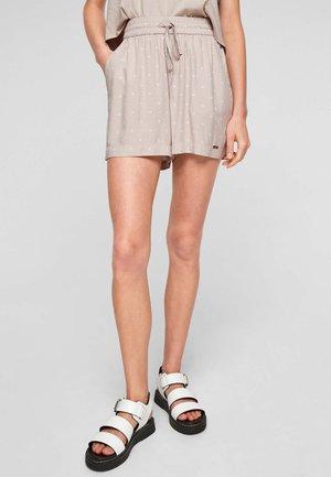 Shorts - beige dots