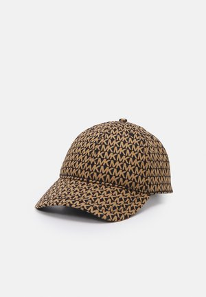 LOGO - Cap - black/dark camel
