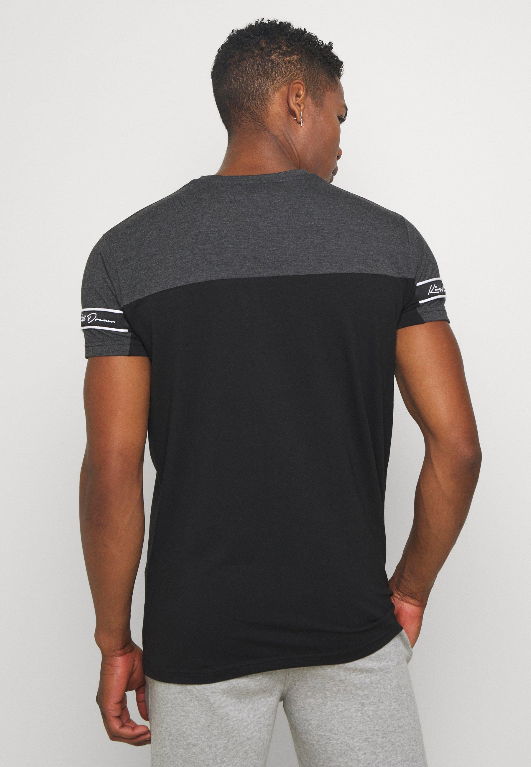 Kings Will Dream VESY - Print T-shirt - char/black n65WT