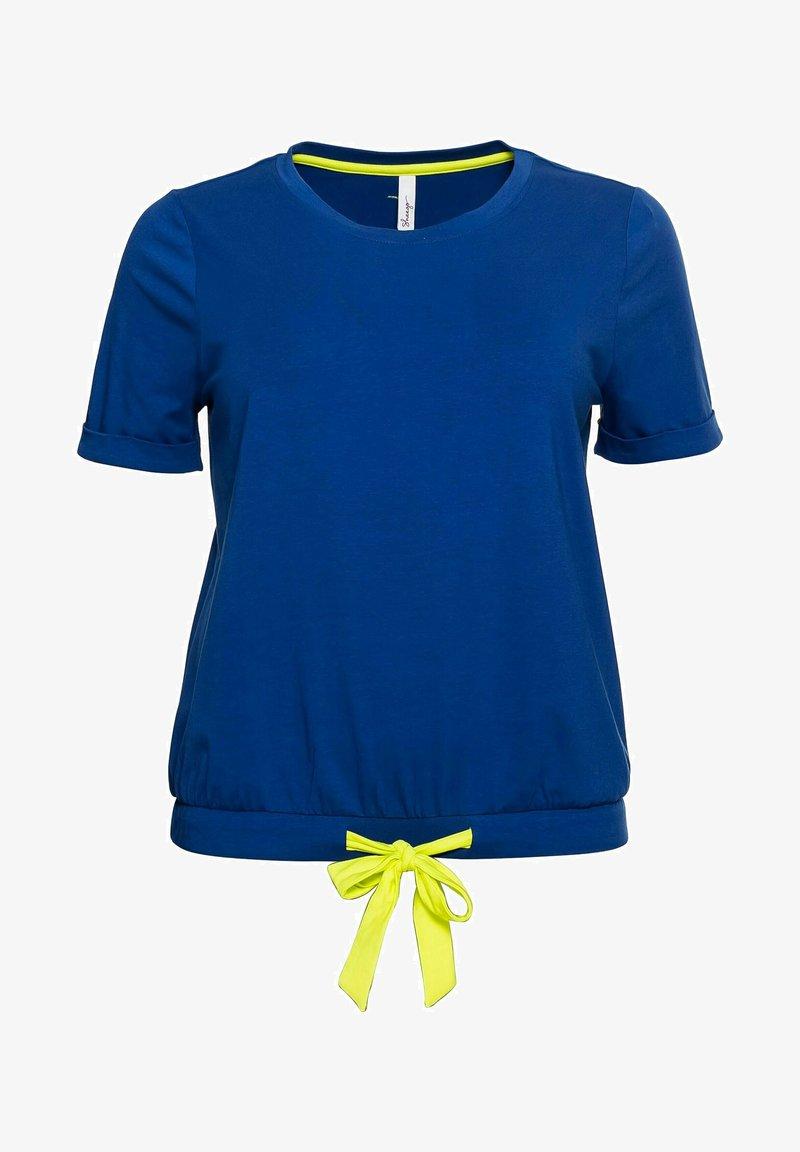 t-shirt print - royalblau