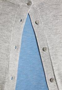 Marks & Spencer London - CREW CARDI PLAIN - Cardigan - grey - 3