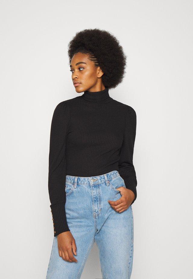 OBJKATRINA - Sweter - black