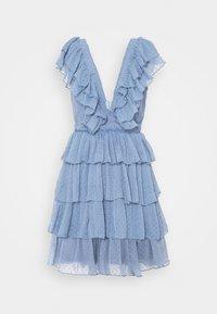 Lace & Beads - MINI - Cocktail dress / Party dress - blue - 3