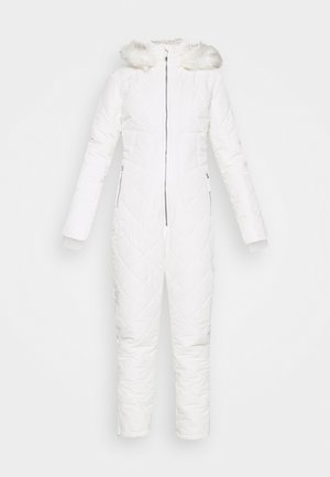SKI QUILTED CORSET SNOW - Tuta jumpsuit - white
