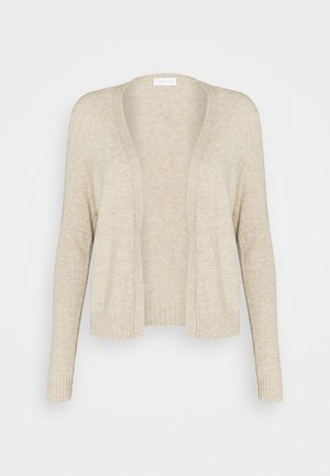 VIRIL SHORT - Cardigan - natural melange