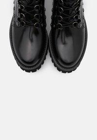 Casadei - Cowboy/biker ankle boot - brushed nero - 6
