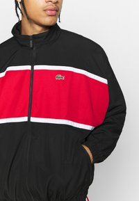 Lacoste Sport - Chándal - black/red/white - 7