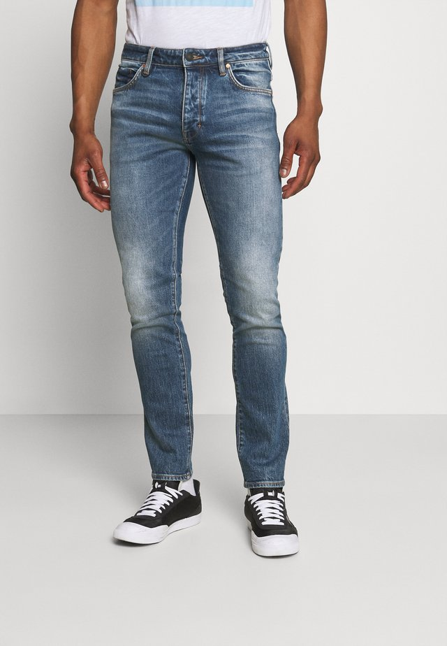 LOU - Jeans slim fit - blue monday