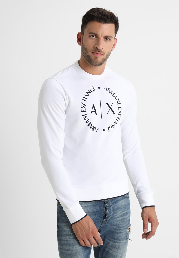 Armani Exchange - Sweatshirt - white