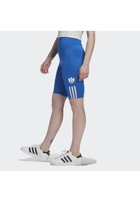 adidas Originals - ADICOLOR 3D TREFOIL SHORT TIGHTS - Shorts - blue - 2
