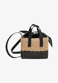 PULL&BEAR - ZWEIFARBIGE  - Handbag - black - 1
