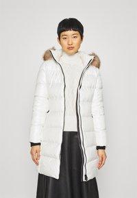 Calvin Klein - ESSENTIAL REAL COAT - Down coat - snow white - 0