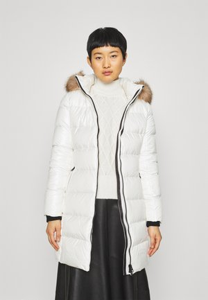 ESSENTIAL REAL COAT - Down coat - snow white