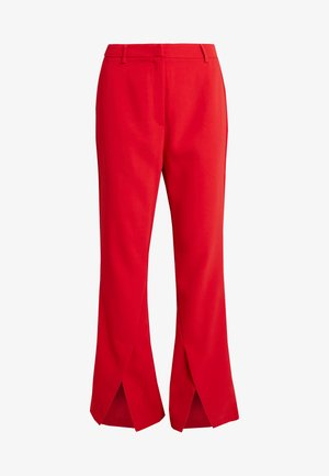 DION TROUSER - Trousers - red