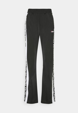 TAOTRACK PANTS OVERLENGTH - Pantalones deportivos - black/bright white