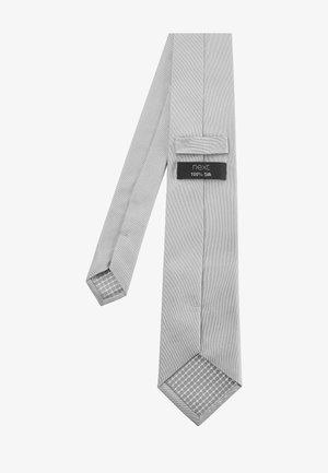 SET - Pocket square - silver