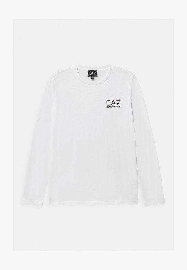 EA7 - Long sleeved top - white