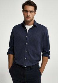 Massimo Dutti - SLIM-FIT - Shirt - blue - 0