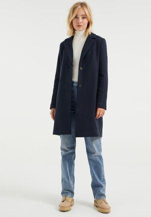 Klasyczny płaszcz - dark blue