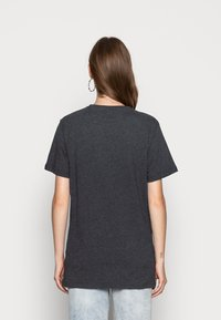 Ellesse - ALBANY - T-shirt z nadrukiem - dark grey marl - 2