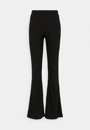 FLARED PANT - Trousers - black