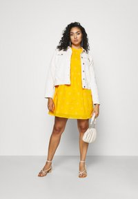 Vero Moda Curve - VMASTA 2/4 DRESS  - Denní šaty - saffron/birch - 1