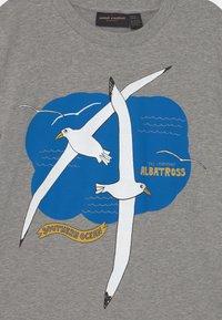Mini Rodini - ALBATROSS TEE UNISEX - T-Shirt print - grey melange - 2