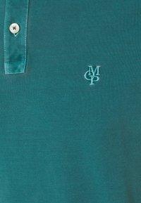 Marc O'Polo - SHORT SLEEVE BUTTON PLACKET COLLAR AND CUFF - Polo shirt - alpine teal - 6