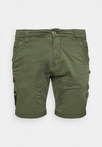 Alpha Industries - KEROSENE PATCH - Shorts - dark olive - 5