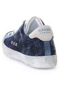 KUNOKA - ALEX - Sneakers laag - petrol - 3