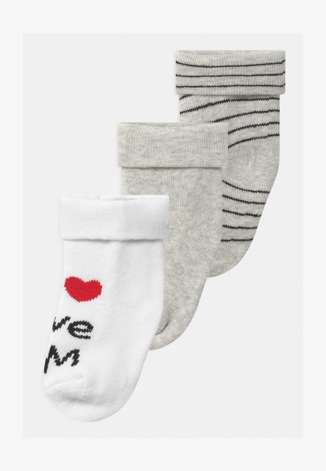 3 PACK - Chaussettes - grey