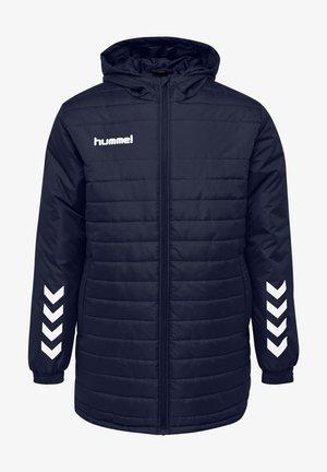 SHORT BENCH - Płaszcz zimowy - marine
