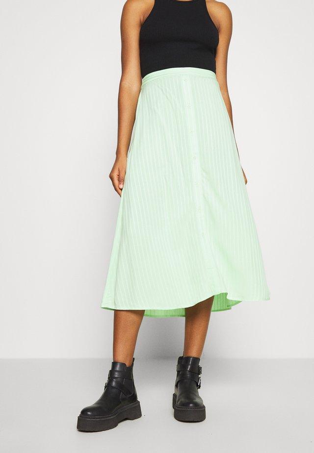 LEONORE SKIRT - Áčková sukně - pistachio green