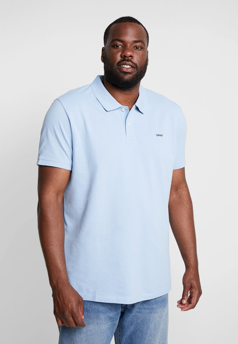 Esprit - BASIC PLUS BIG - Polo shirt - light blue