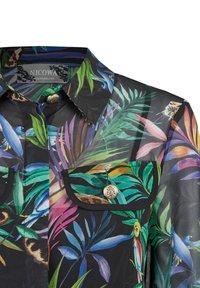 Nicowa - GIUNGLIO - Button-down blouse - schwarz - 2
