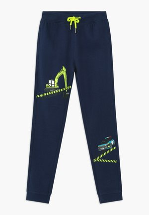 KIDS POLICE CAR DIGGER - Trainingsbroek - blau