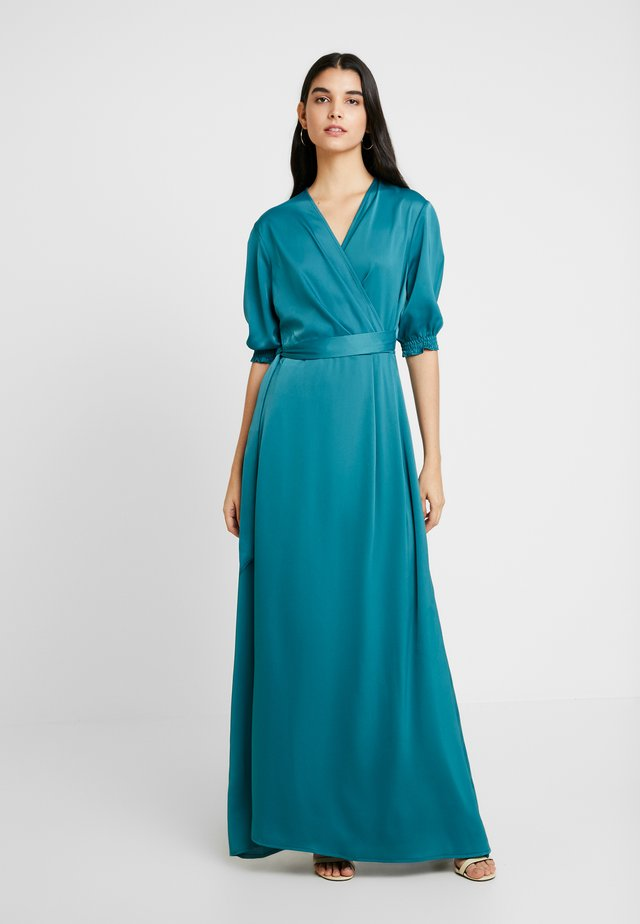 COLUS DRESS - Iltapuku - ocean green