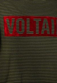 Zadig & Voltaire - SHORT SLEEVES - Print T-shirt - khakiblack - 2