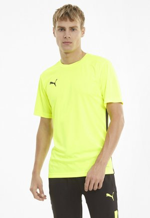 FTBLPLAY  - Basic T-shirt - yellow alert puma black