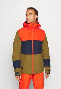 Quiksilver - SYCAMORE - Snowboard jacket - military olive - 0