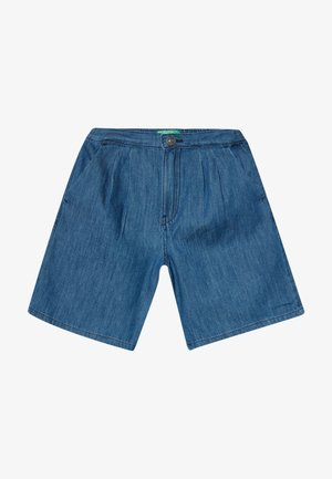 BERMUDA - Szorty jeansowe - blue denim